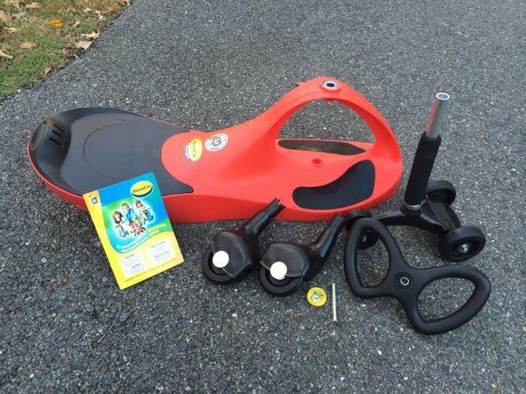 Hướng dẫn lắp ráp xe lắc trẻ em