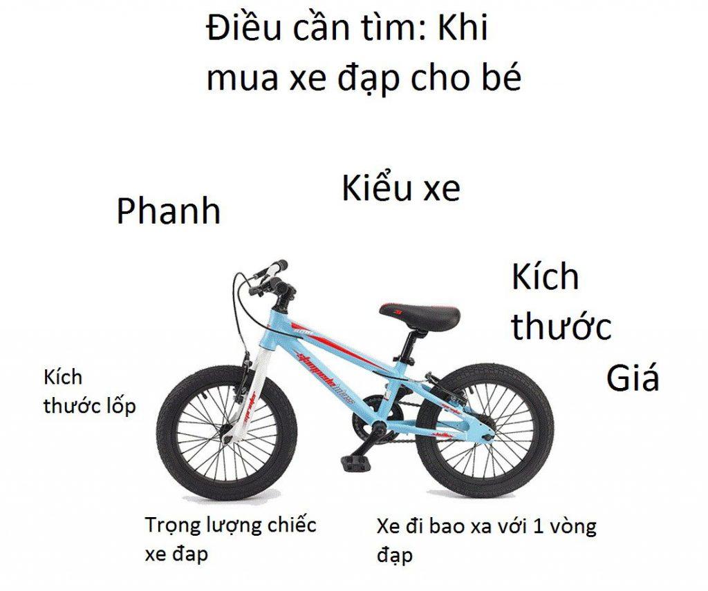 Sự lựa chọn xe đạp tốt nhất cho bé, tại sao không