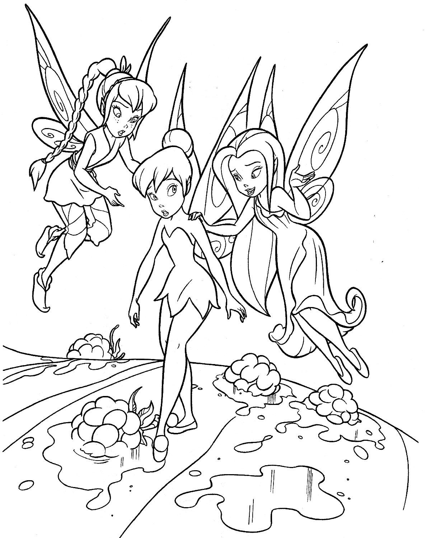Tranh tô màu cho bé các nhân vật truyện tranh cổ tích 9