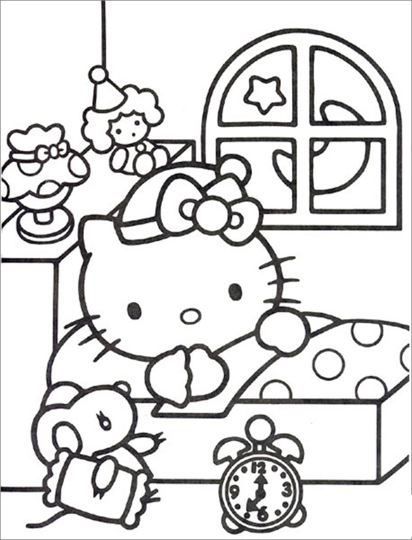tranh to mau hello kitty 15