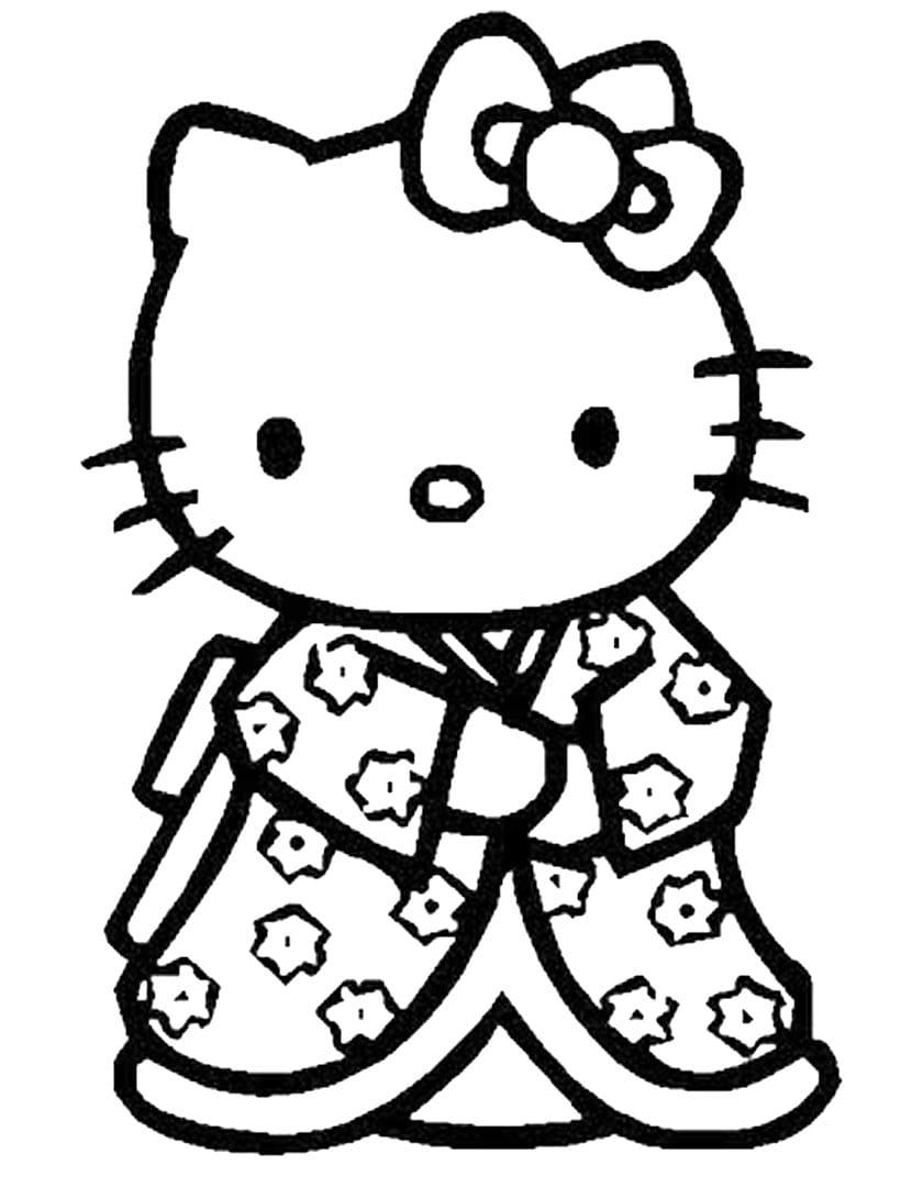 tranh to mau hello kitty 16