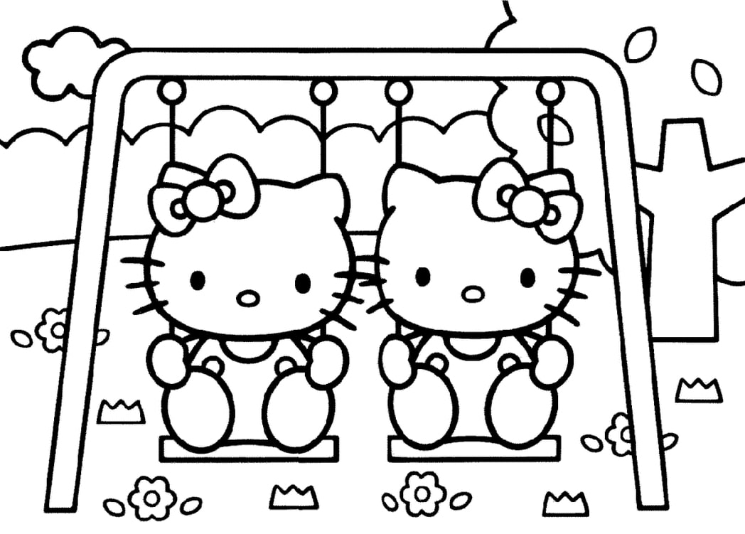 tranh to mau hello kitty 19