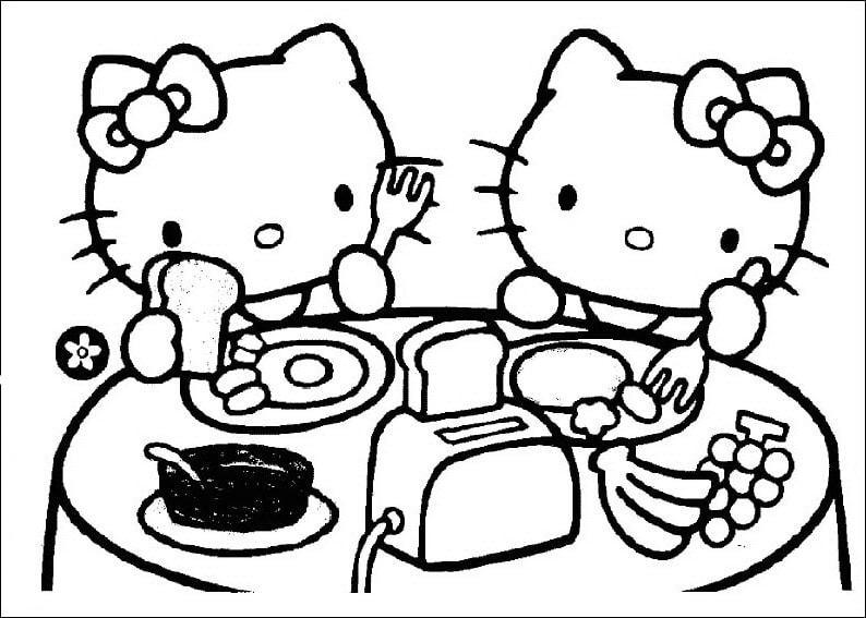tranh to mau hello kitty 3