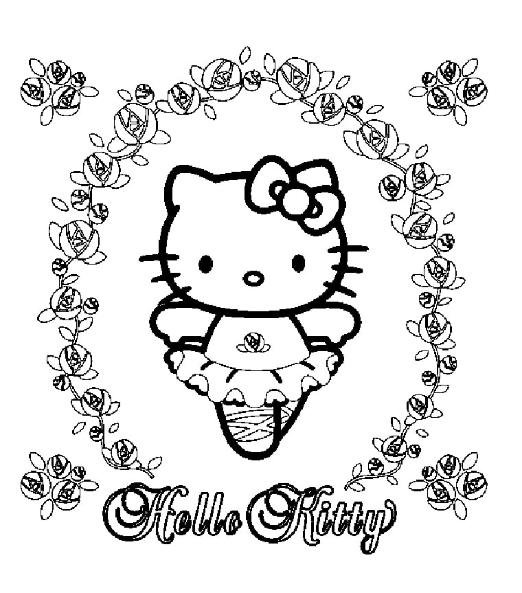 tranh to mau hello kitty 5