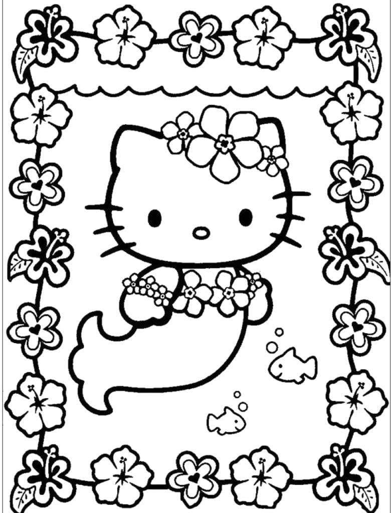 tranh to mau hello kitty 9