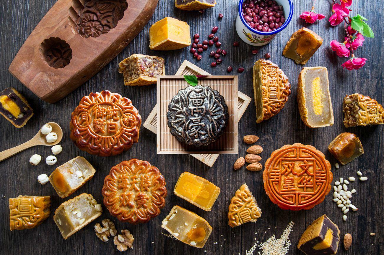 bánh nướng truyền thống mùa trung thu