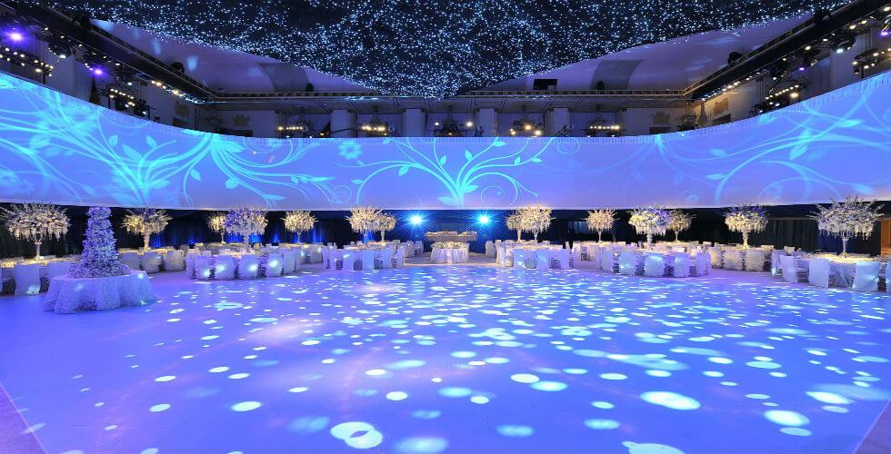 Xu hướng đèn led trang trí tiệc, sự kiện