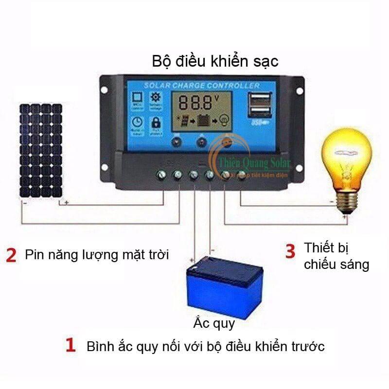 bộ điều sạc năng lượng mặt trời