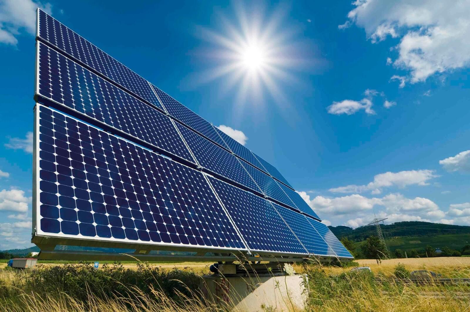 Hệ thống năng lượng mặt trời mặt đất
