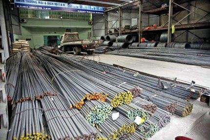 điều kiện mở đại lý sắt thép