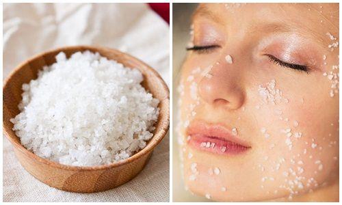 Cách làm trắng da tại nhà từ dấm, muối làm trắng da mặt cấp tốc