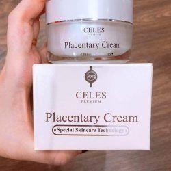 Celes Placentary Cream đẩy lùi và làm mờ các vết nám, tàn nhanh hình thành lâu ngày trên da