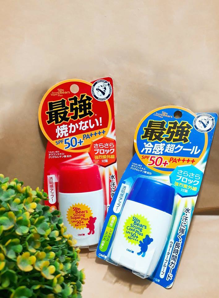 Omi Sun Bears - Kem chống nắng giá rẻ, chất lượng
