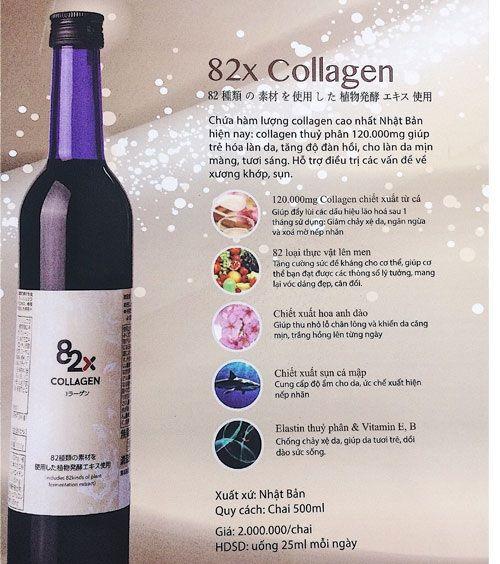 Collagen 82x của Nhật