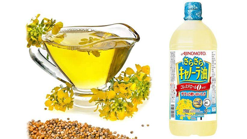Dầu ăn hạt cải Ajinomoto của Nhật có tốt không Cách dùng