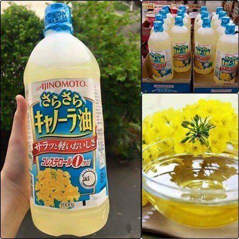 Dầu ăn hạt cải Ajinomoto của Nhật