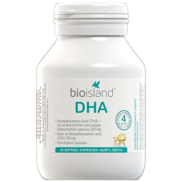 Dầu Cá Bio Island DHA Có nhiều thành phần tốt cho não bộ