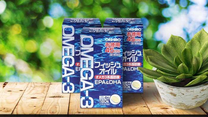Dầu cá Orihiro Omega 3 Nhật Bản gía bao nhiêu?