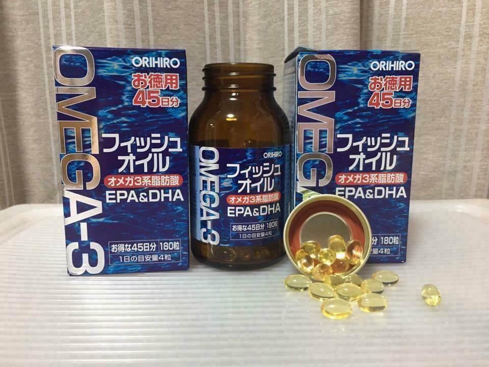 Dầu cá omega 3 của nhật có tốt không? giá bao nhiêu?