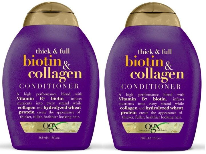 Dầu Gội Biotin & Collagen OGX Shampoo 385ml