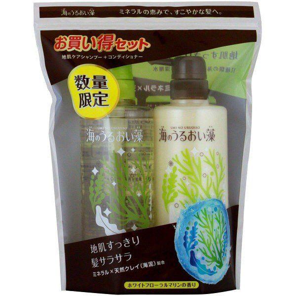 Công dụng dầu gội tảo biển Nhật Bản.