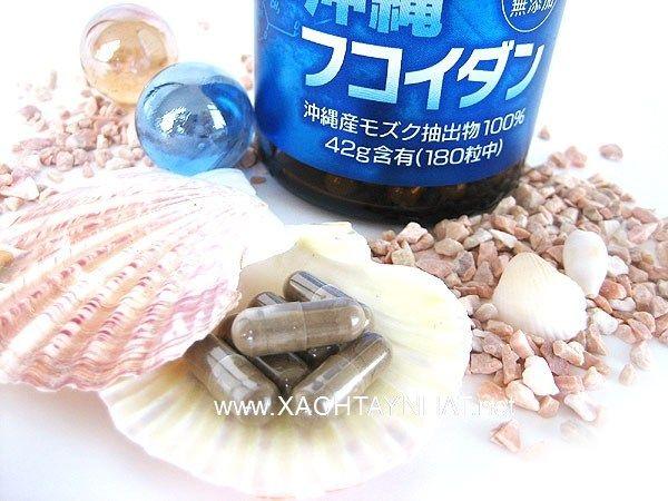 Fucoidan okinawa nhật bản