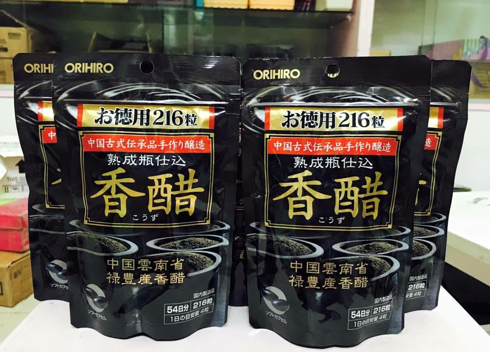 Dấm đen của orihiro nhật giá bao nhiêu?