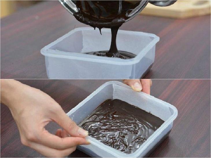 Cách làm Nama chocolate Nhật Bản