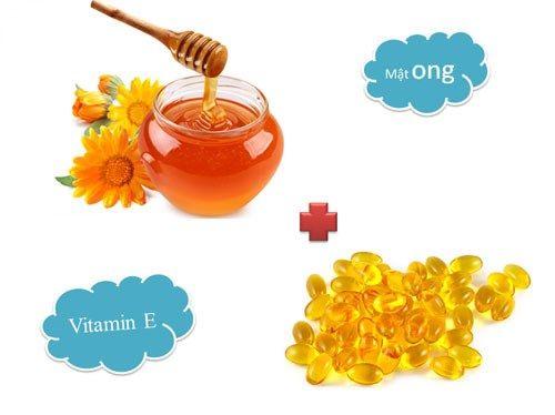 Cách làm hồng nhũ hoa bằng mật ong và vitamin E