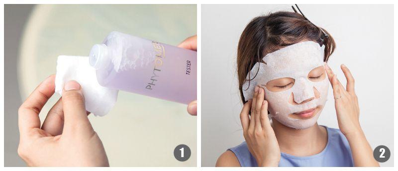 Một số lưu ý khi làm Lotion Mask với Hada Labo Lotion