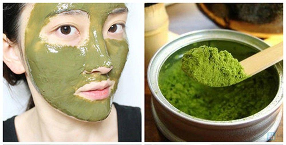 Hướng dẫn làm mặt nạ từ bột trà xanh matcha