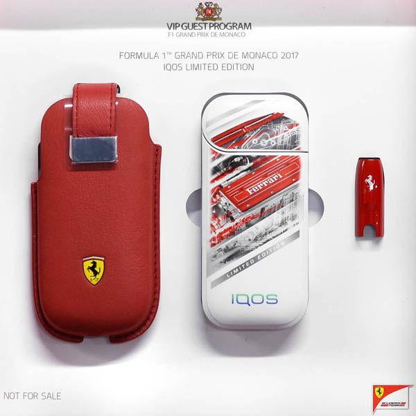 IQOS Ferrari Monaco F1 2017