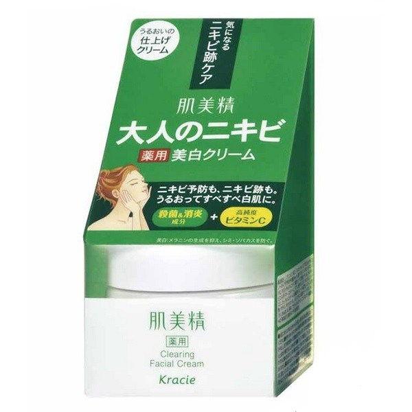 Kem dưỡng da mụn Kracie Hadabisei (Acne Care) facial cream 50g