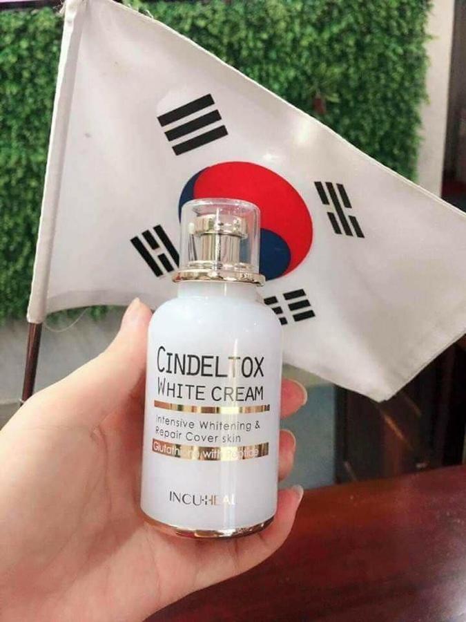 Kem Cindel Tox white cream dành cho những đối tượng
