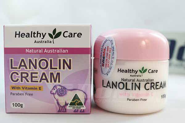 kem nhau thai cừu Lanolin: