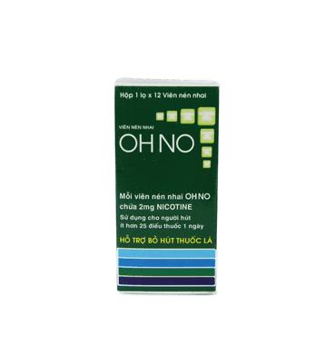 Kẹo cai thuốc lá Ohno