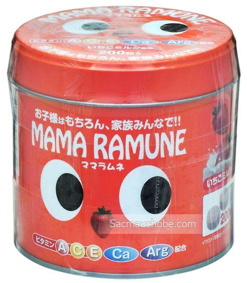 Kẹo Vitamin Mama cho trẻ biếng ăn của Nhật