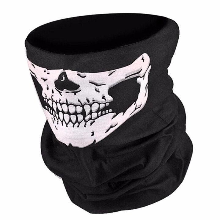Khăn khẩu trang Hàm răng  Skull2
