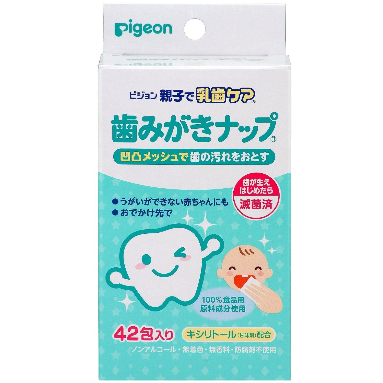 Giới thiệu sản phẩm khăn lau răng Pigeon: