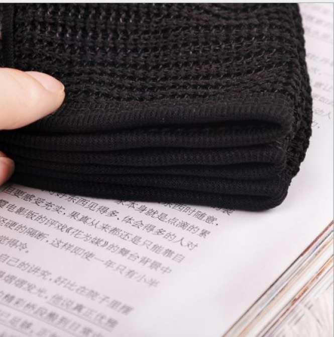 Khẩu trang lưới full đen KOREA