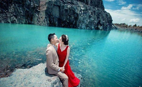 Chụp ảnh cưới tại Hồ Cốc – Hồ đá Xanh