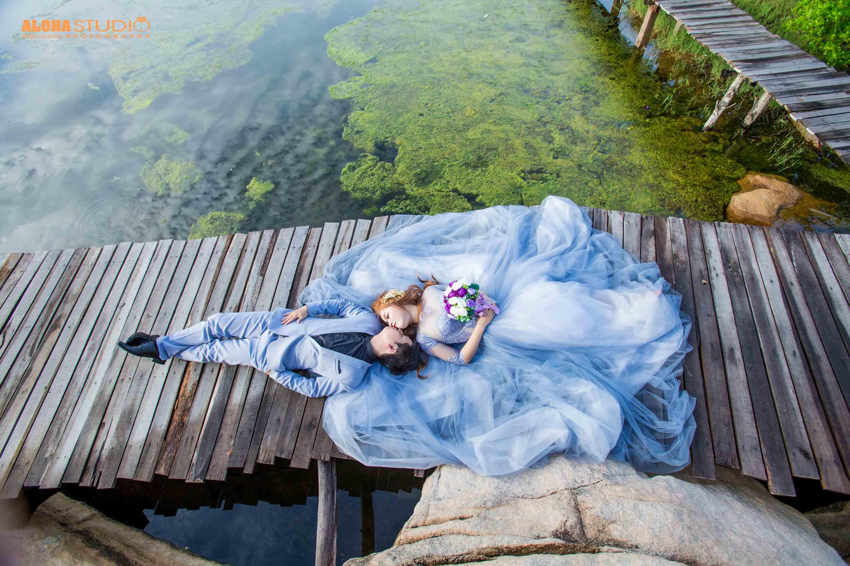 Giá chụp hình cưới Hồ Cốc trọn gói