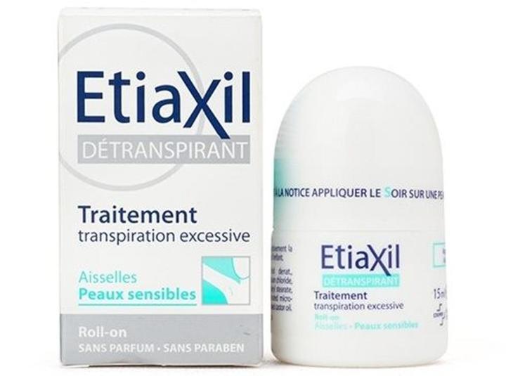 """Lăn khử mùi Etiaxil Với bao bì nhỏ gọn , độc đáo , cùng với đó là cách thức sản xuất trải qua nhiều năm kinh nghiệm tá động trực tiếp và """"điều trị"""" được hiện tượng đổ mồ hôi ngay từ lần sử dụng đầu tiên."""
