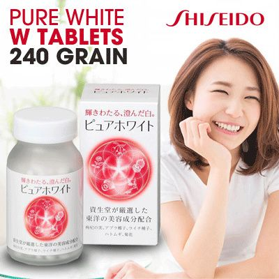 Pure White Shiseido.