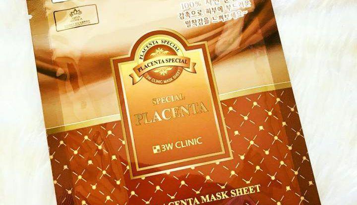 Mặt nạ nhau thai cừu Placenta 3W Clinic
