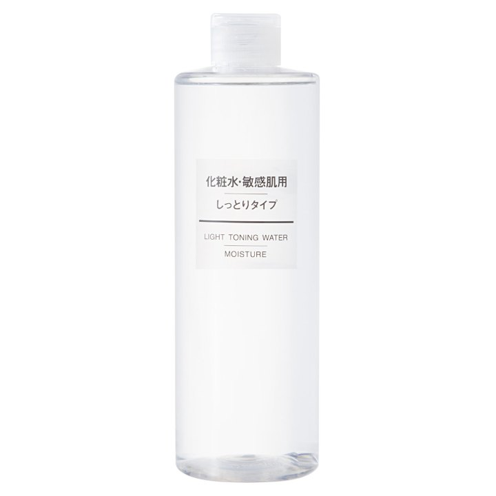 Muji light toning water moisture
