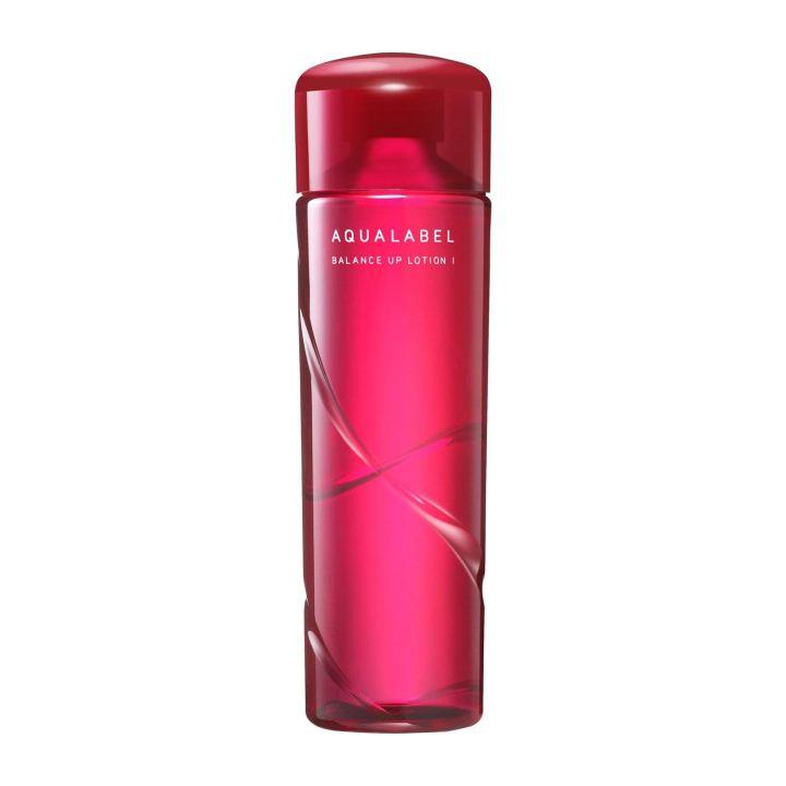 Nước hoa hồng Shiseido Aqualabel Moisture Lotion màu đỏ