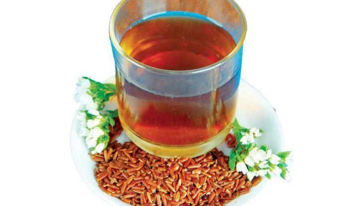 Nước trà gạo lứt rang - Gạo Lứt Bà Loan