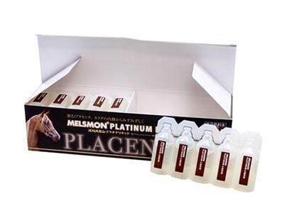 nước uống nhau thai ngựa Melsmon nhật bản có chứa hơn 3000 vitamin và khoáng chất cùng 300 loại axit amin không chỉ phục hồi nhanh làn da trở nên thêm tươi trẻ dưỡng ẩm da, tăng thêm độ đàn hồi căng bóng.