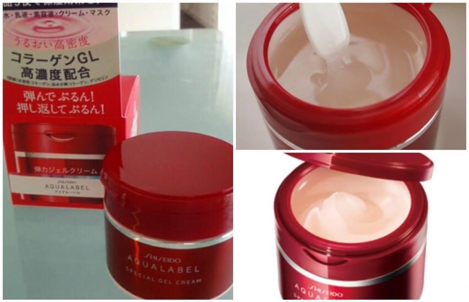 Kem dưỡng da Shiseido Aqualabel Special Gel Cream 90g